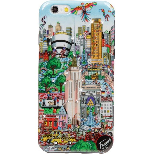Fazzino Flying Over New York iPhone 6/6S Case