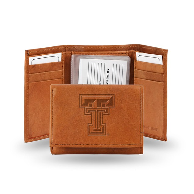 Texas Tech Leather Manmade Trifold