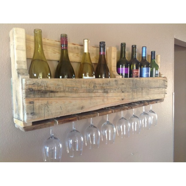 Olivia Wine & Glass Rack