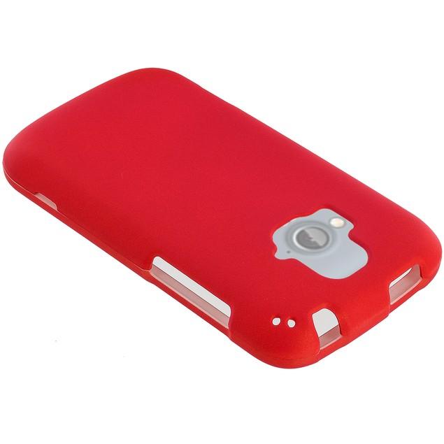 ZTE Radiant Hard Rubberized Case Cover