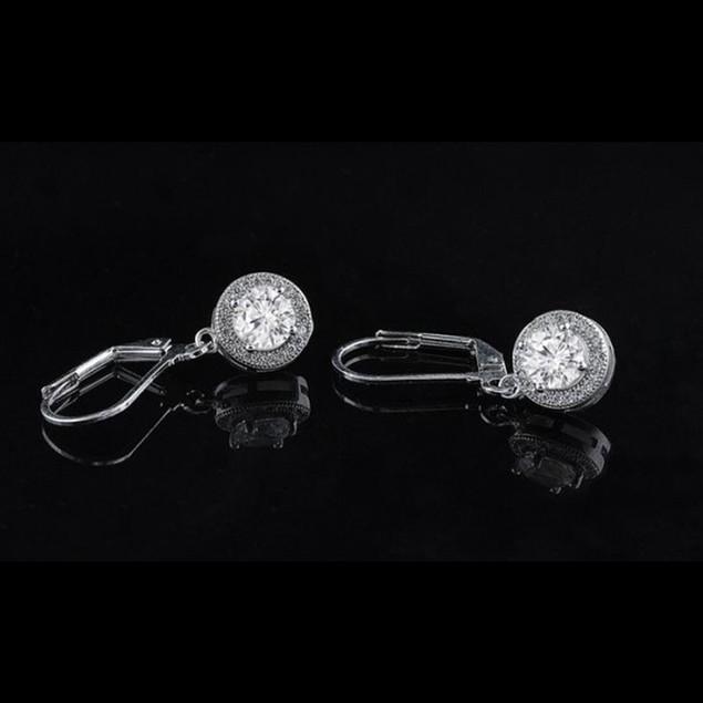 Crystal Drop Earrings with Swarovski Elements