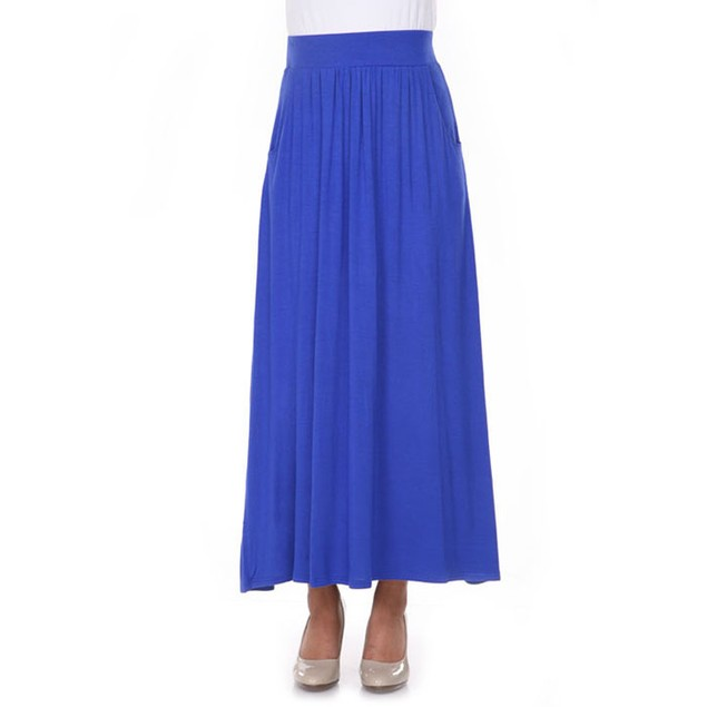 Sky Blue Maxi Skirt