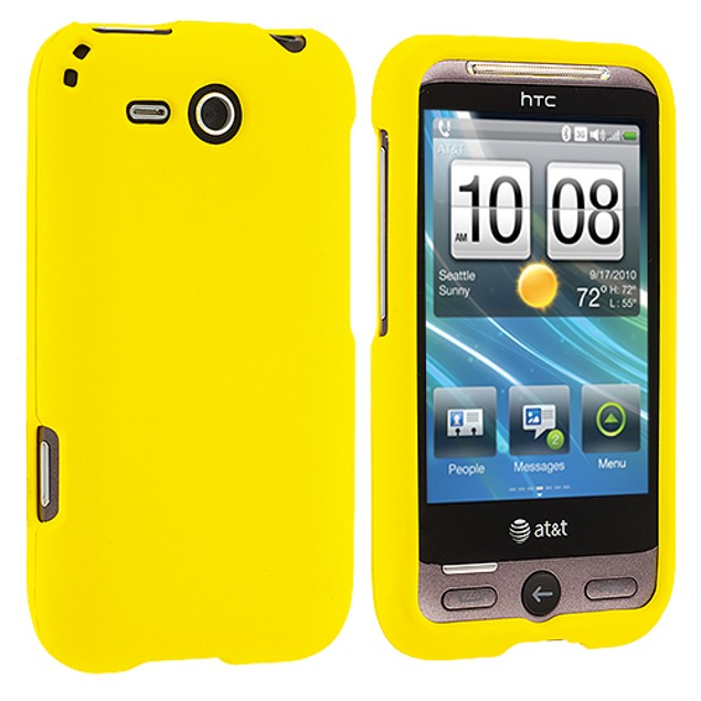HTC Freestyle F8181 Hard Rubberized Case Cover