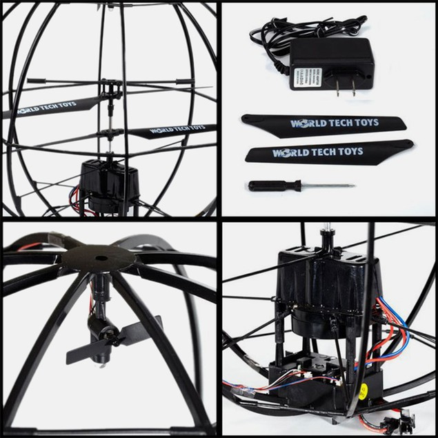 Alien-X UFO GYRO Electric 3.5CH RTF RC Helicopter