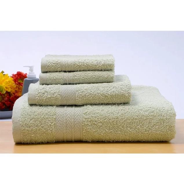 8-Piece Set: 100% Cotton Towel Set Assorted Colors