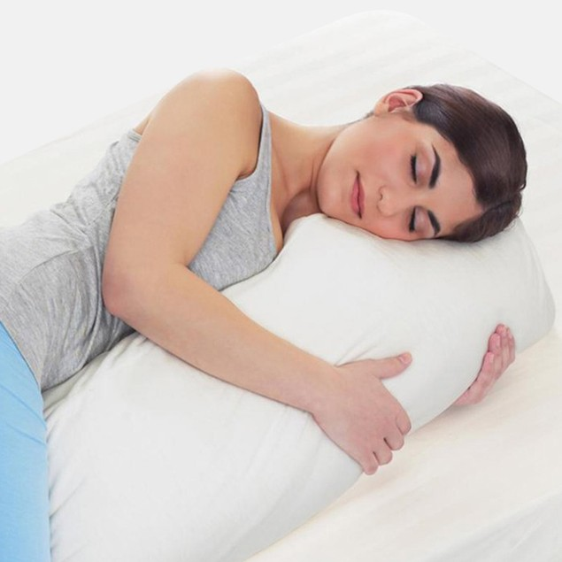 SoftLiving MemoryFoam Body Pillow w Washable Cover