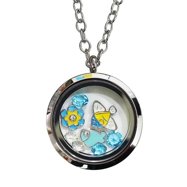 Fish Lover Magnetic Locket