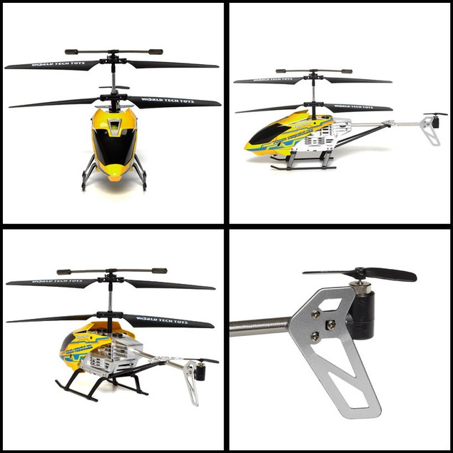 3.5ch Gyro Nano Hercules Unbreakable IR Helicopter