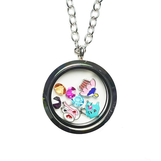 Tea Party Magnetic Locket