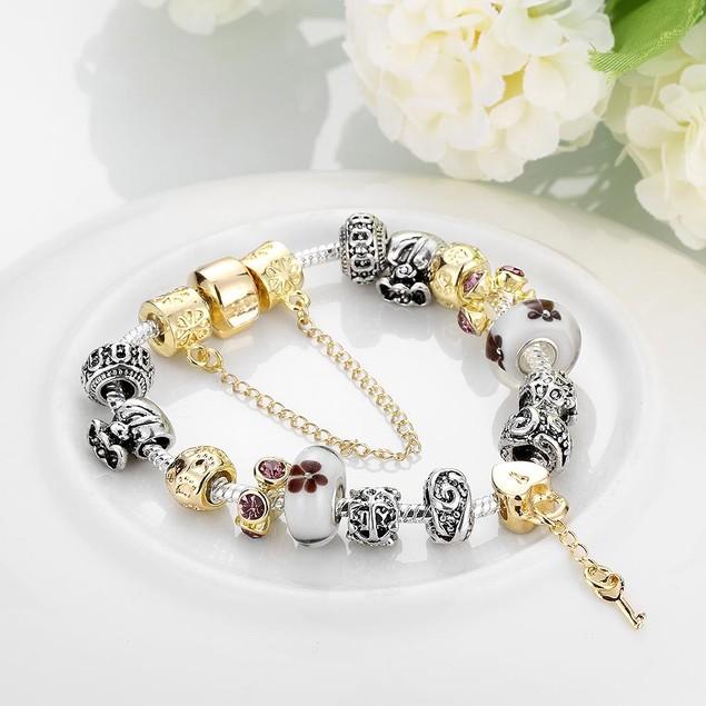 Lock & Capture My Heart Designer Inspired Bracelet