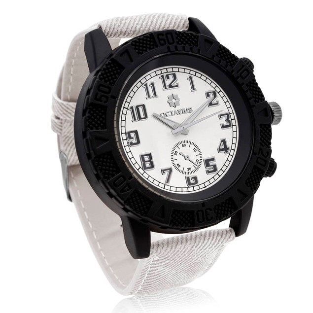 Octavius The Luthor Watch - White