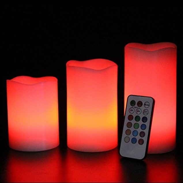 3-Pack Marelight Flameless LED Candles