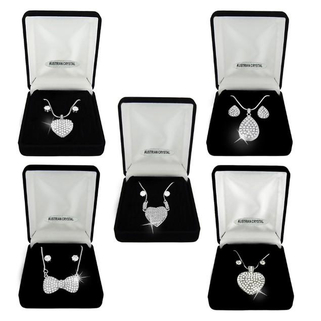 Austrian Crystal Set - Assorted Styles