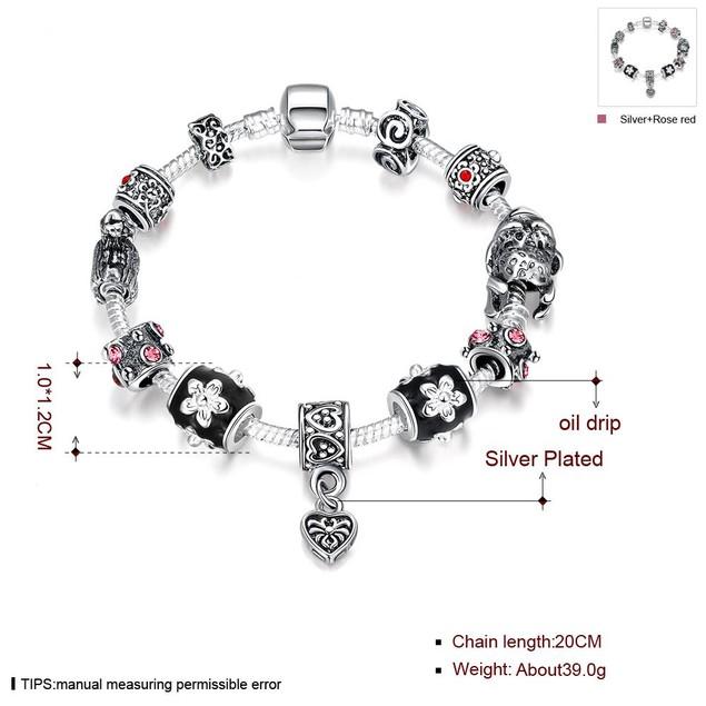 Midnight Passion Designer Inspired Bracelet