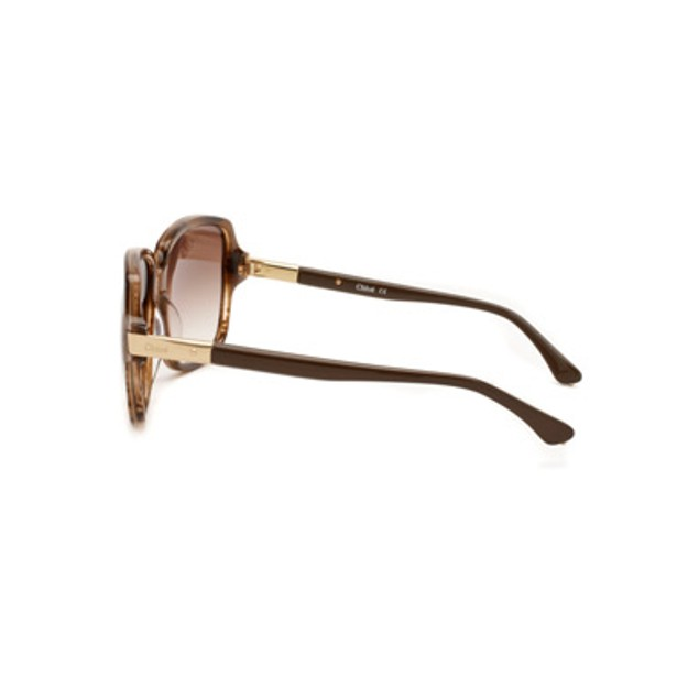 Chloe Ammi Fashion Sunglasses - Brown Horn