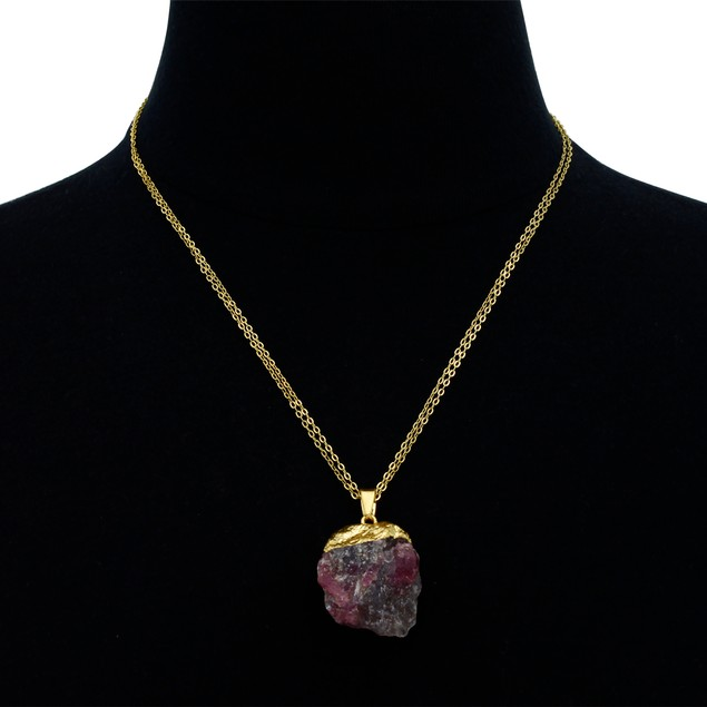 30ct Natural Multicolored Agate Necklace 30 Inches