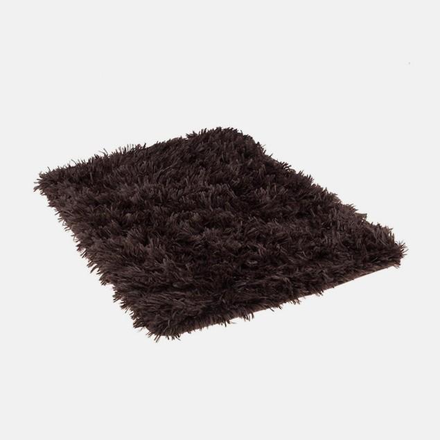 Angola Fleece 17x24 Shag Top Memory Foam Bath Mat