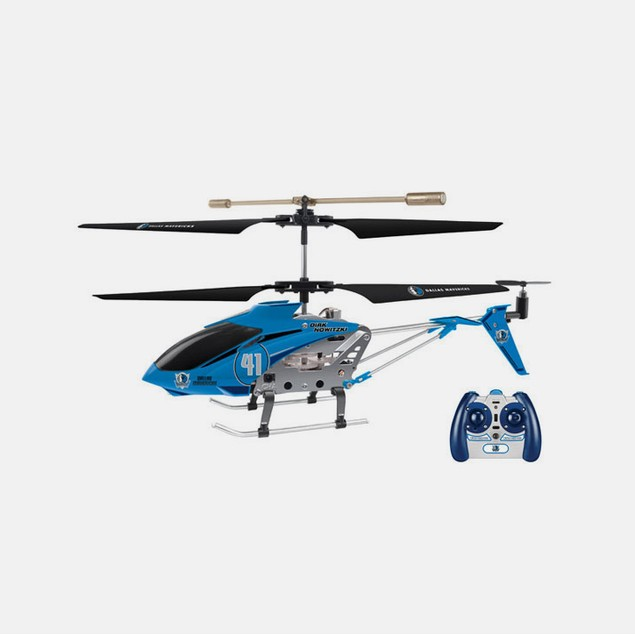 NBA Dallas Mavericks Dirk Nowitzki RC Helicopter