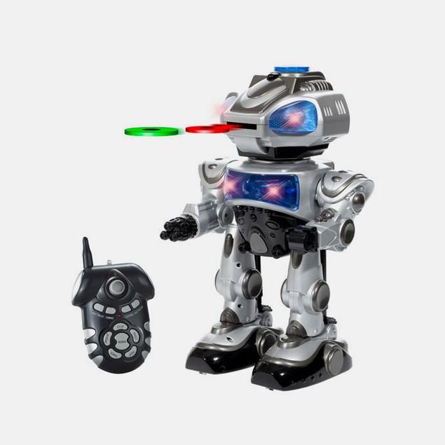 RoboKid Programmable Disc Shooting RC Robot
