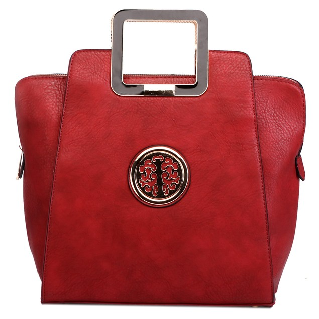 MKF Collection Molly Medallion Satchel by Mia K Farrow