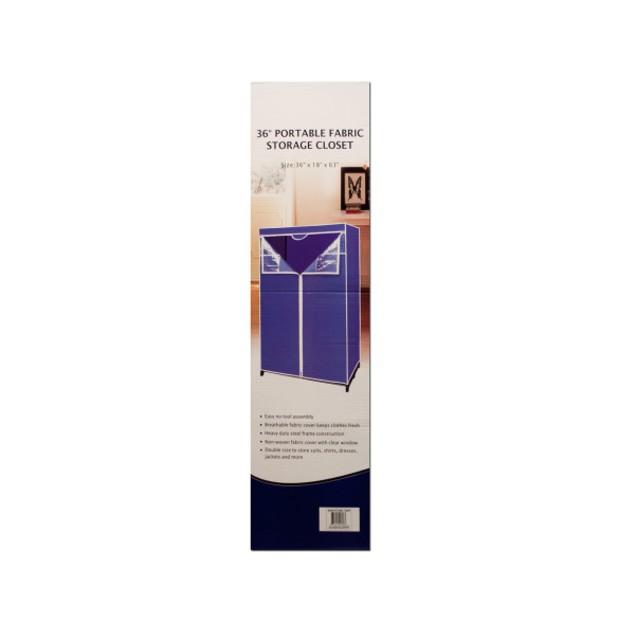 Portable Fabric Storage Closet