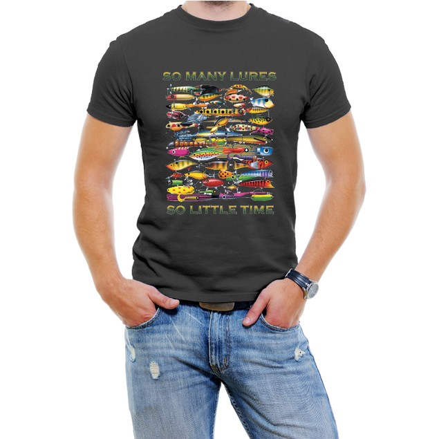 """""""So Many Lures...So Little Time"""" T-Shirt"""