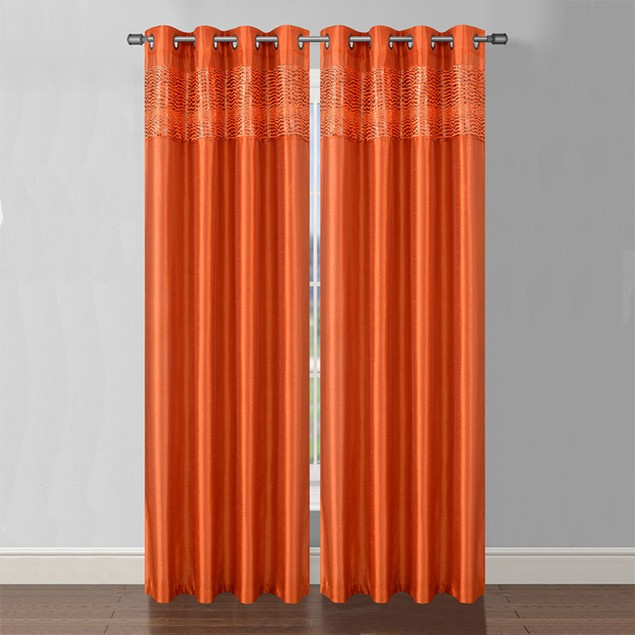 2-Pack: Sasha Grommet Curtain Panels