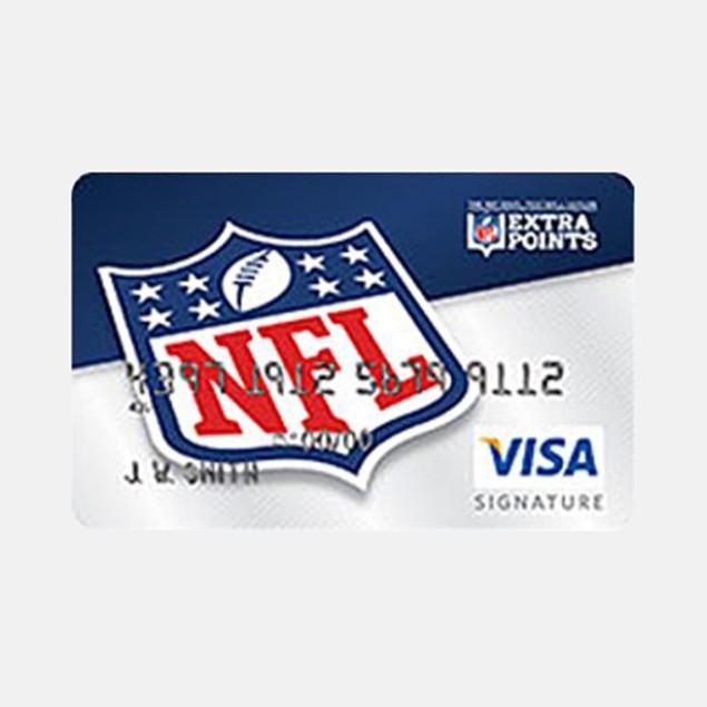 NFL Extra Points Visa Card