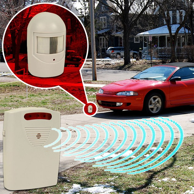 Driveway Patrol Infrared Wireless Home Security Alarm System