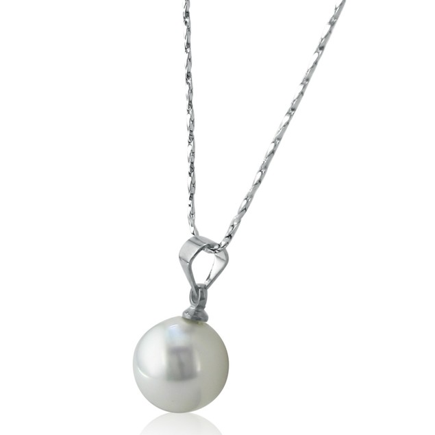 12mm Shell Single Pearl Pendant