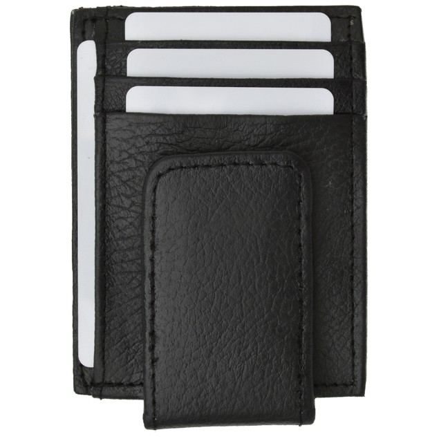 Afonie Genuine Leather Money Clip - Assorted Colors
