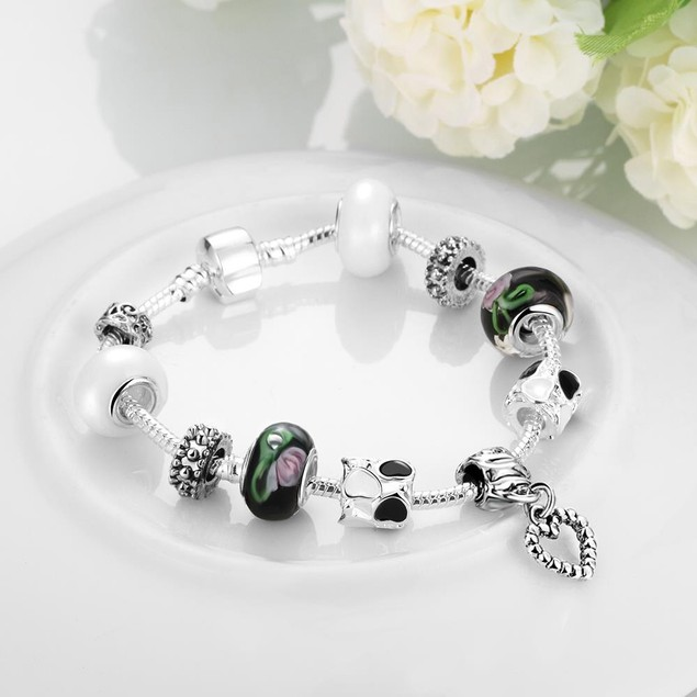 Chrismas in Aspen Designer Inspired Bracelet