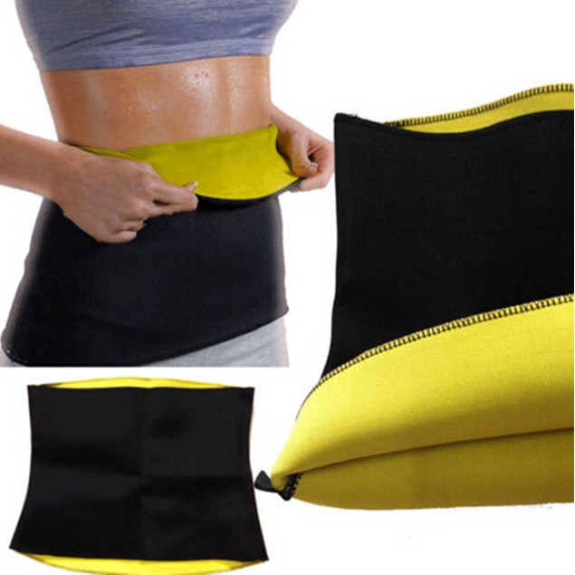 Saunafit Slimming Thermal Neoprene Sports Bra, Belt, and Capri Pants