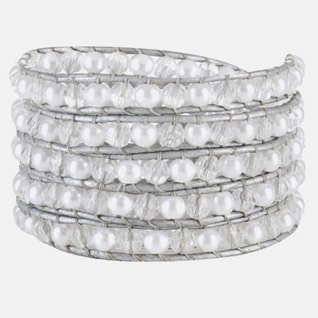 White Ivory Wrap Bracelet