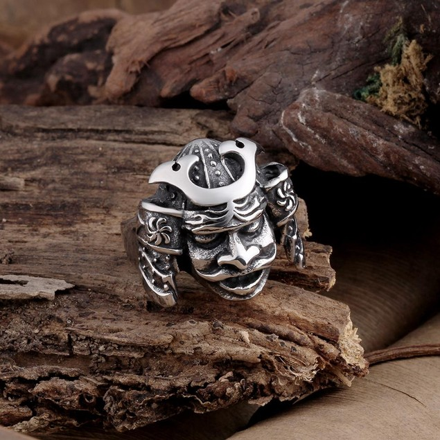 Resurrected Creature Stainless Steel Ring