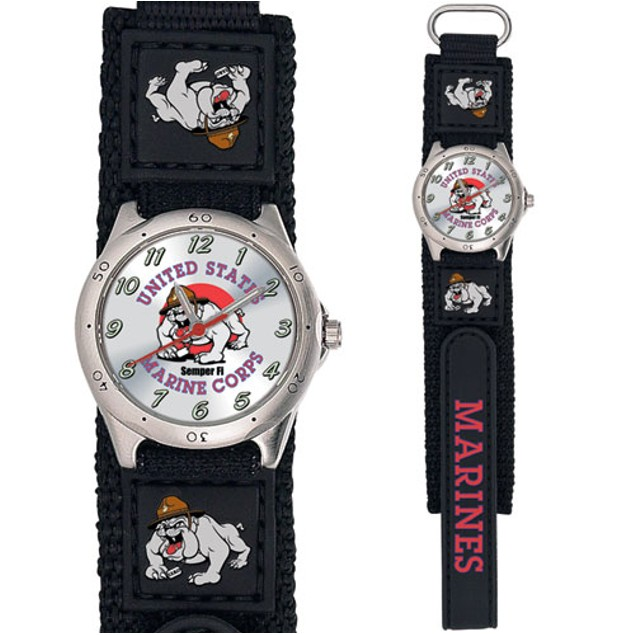 Marines Bulldog - Military Mascot Boys Watch