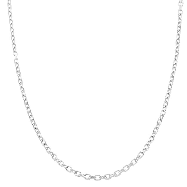 2-Pack Sterling Silver Adjustable Cable Chain