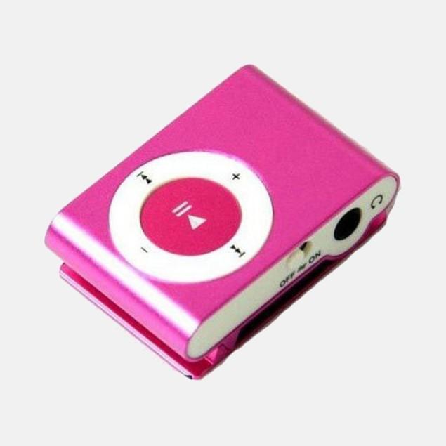 Mini Fashion Clip Metal MP3 Player