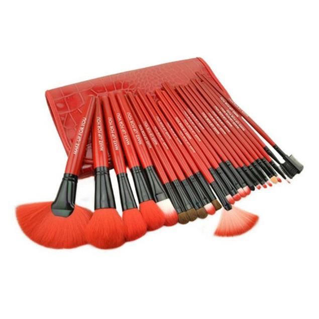 Royal Red Brush Set