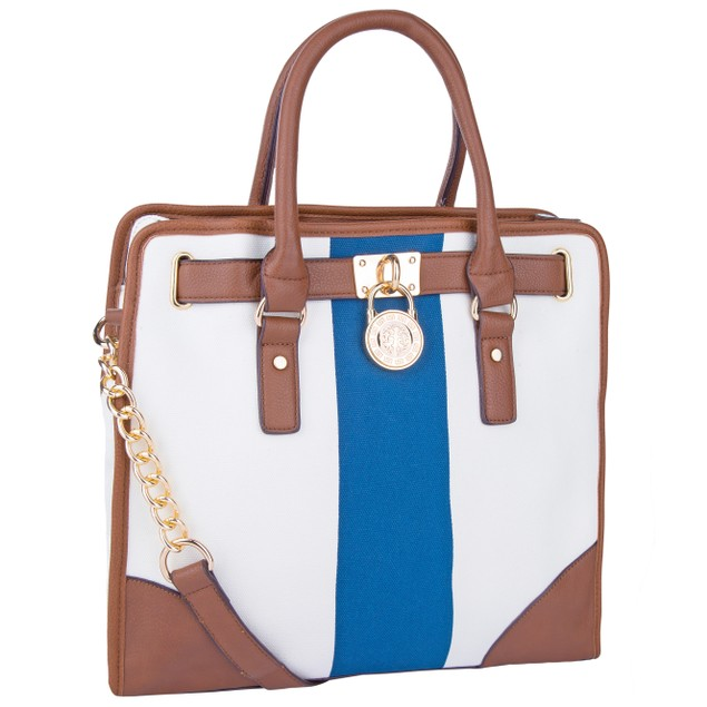 MKF Collection Two -Tone  Designer Shoulder Bag