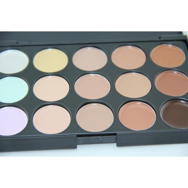 15 Color Face Cream Makeup Palette