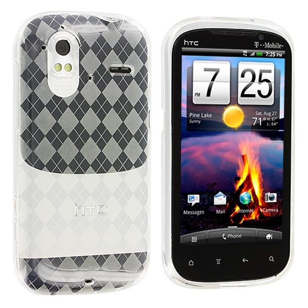 HTC Amaze 4G TPU Rubber Case Cover