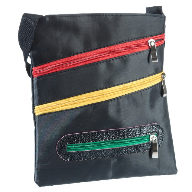 Suvelle Contrast Color Zippered Everyday Crossbody Bag