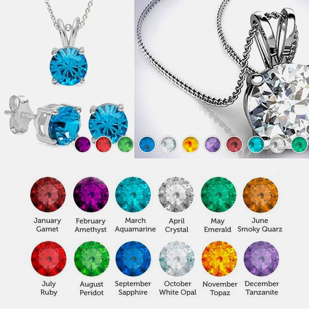 18kt White Gold Plated Earring and Pendant Set