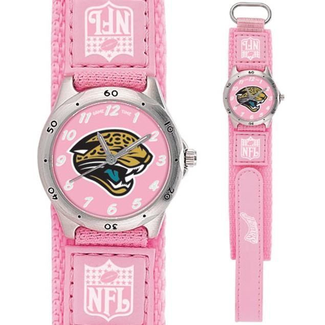 Gametime NFL Future Star Youth Pink Watch  - Jacksonville Jaguars