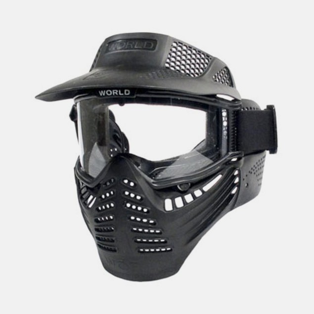 Full Face Airsoft Mask with Goggles And Visor