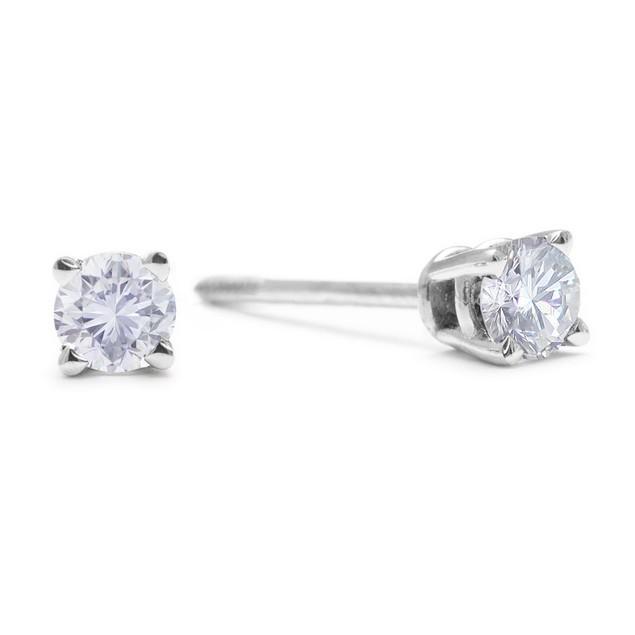 Diamond Stud Earrings 1/3cttw