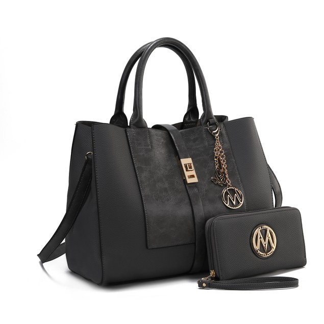 MKF Collection Yola Satchel Bag with Wallet by Mia K.