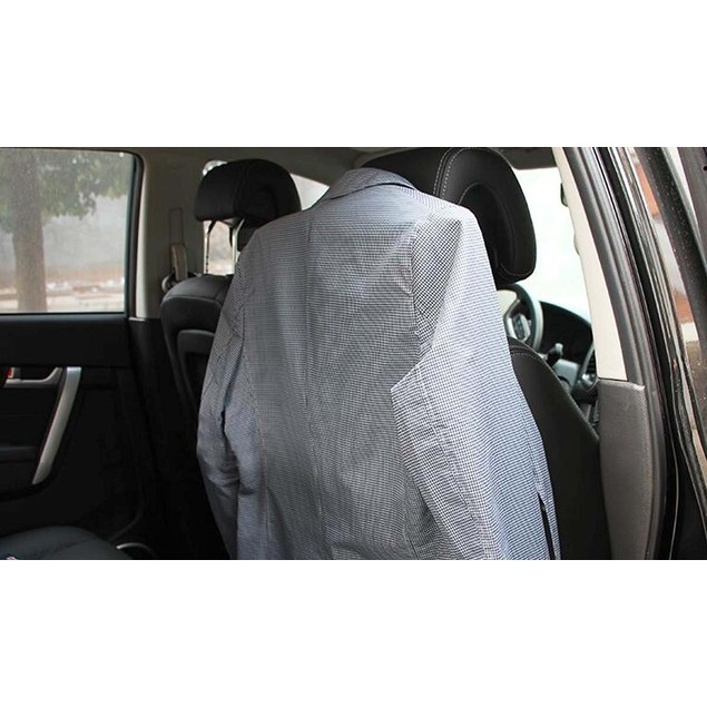Zone Tech Metal Car Suit Hanger Headrest Clothes Holder Travel Jacket