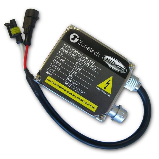 Zone Tech 1 Premium 35W AC Universal Replacement HID Ballast